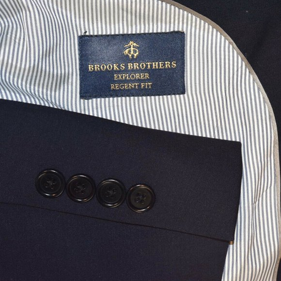 Brooks Brothers Other - 42R Brooks Brothers Regent Navy Blue Sport Coat